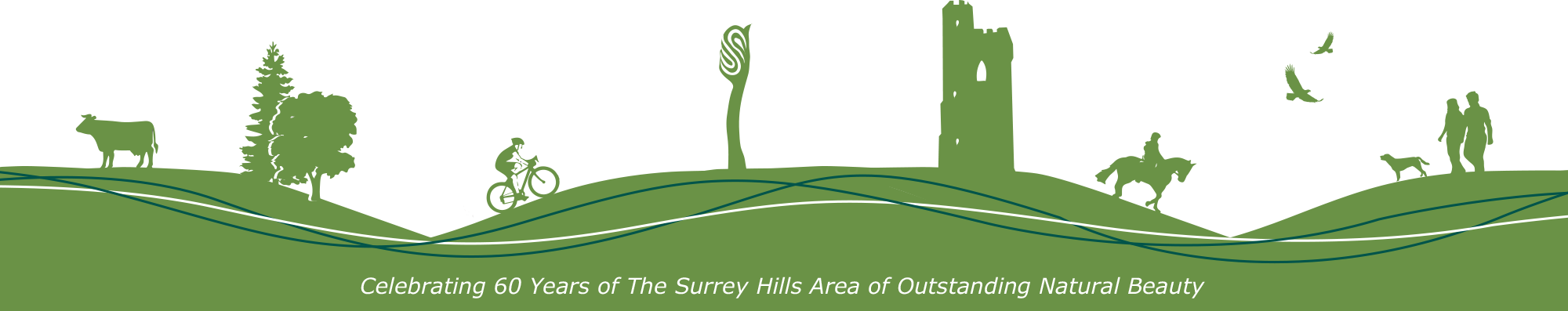 celebrating 60 Years of The Surrey Hills Area of Outstanding Natural Beauty