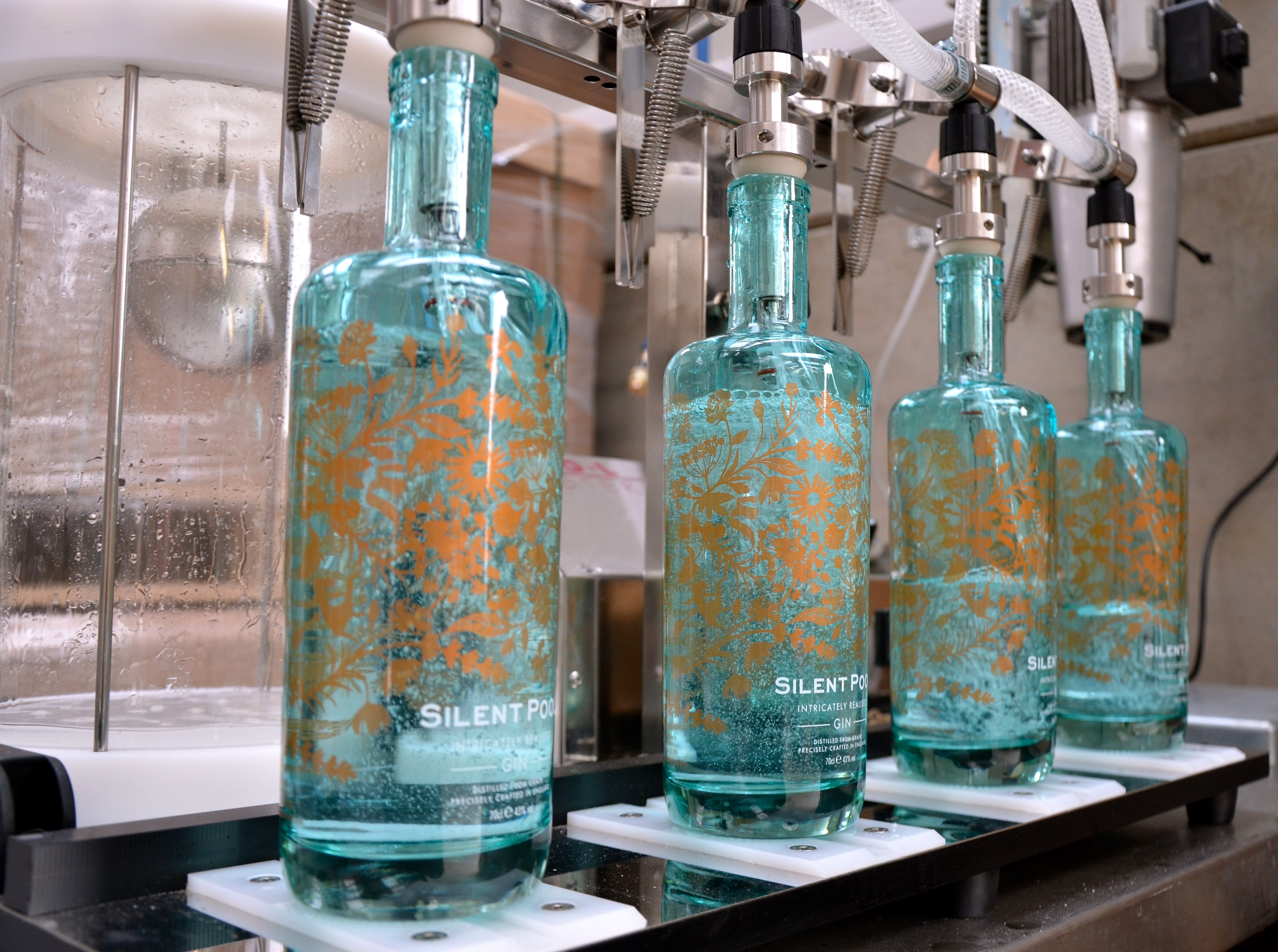 Silent pool distillery wins its first international awards surrey hills - Silent pool gin ...