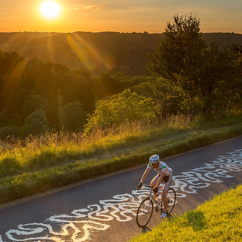 box hill cyclist