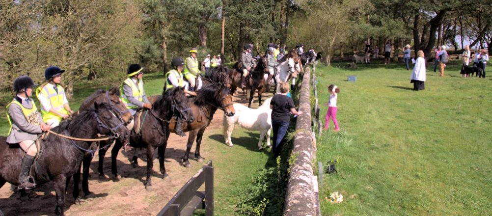 Gathering for the Service (photo by Kevan Furlonger)
