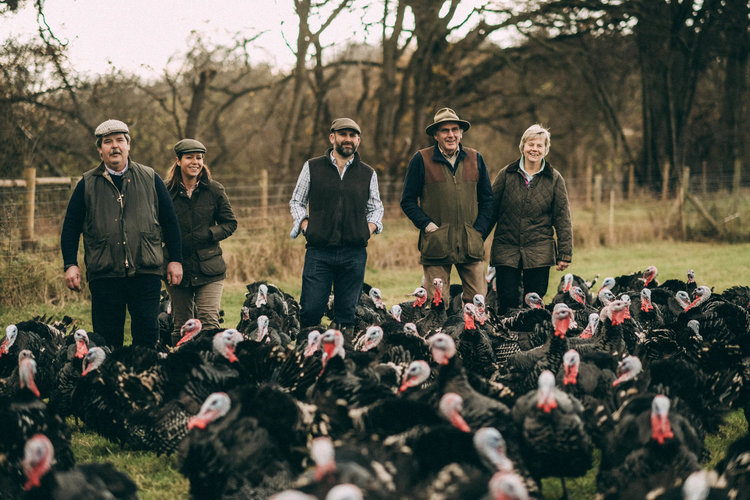 Adrian-Derek-Joy-Bramble-farm-free-range-turkeys-surrey