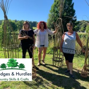 Plant Support Workshop by HEDGES & HURDLES COUNTRY SKILLS & CRAFTS