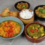 Home made Indian Valentine gift meal