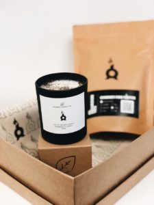 Valentine's Day: Chimney Fire Coffee, Coffee Candle Care Pack