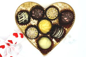 Valentine's Day chocolates from Sweet C's Handcrafted Chocolates